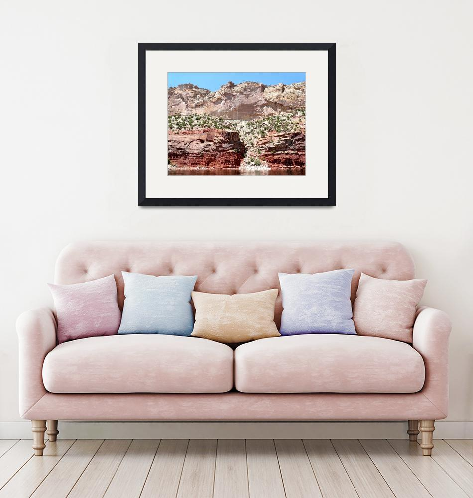 """""""Pink Cliffs Flaming Gorge""""  (2010) by BrianAShaw"""