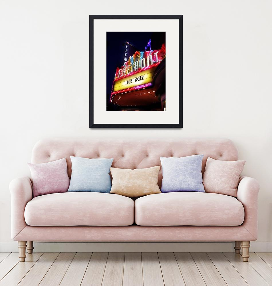 """""""fremont theater""""  (2006) by studiobrian"""