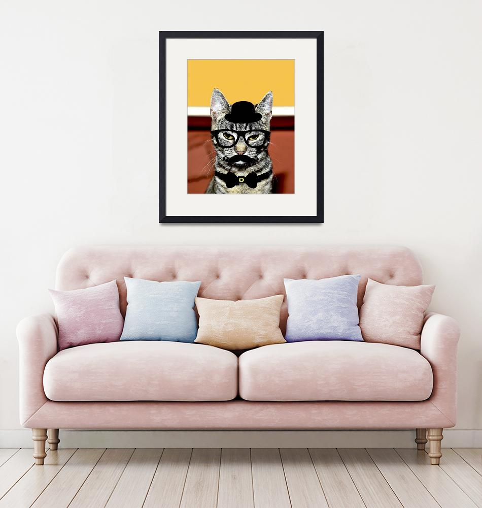 """""""cat""""  (2017) by katerinagalle"""
