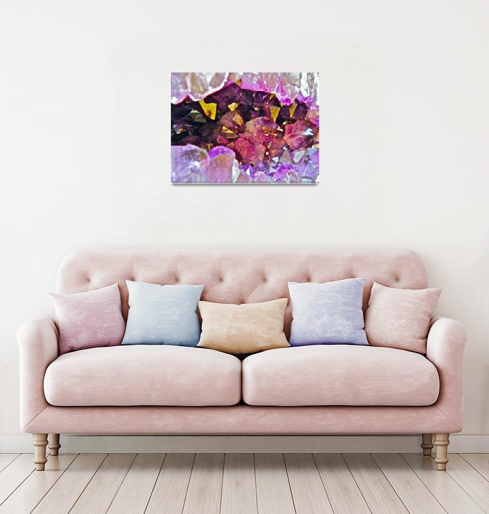 """""""Purple Crystal""""  (2010) by loopstreet"""