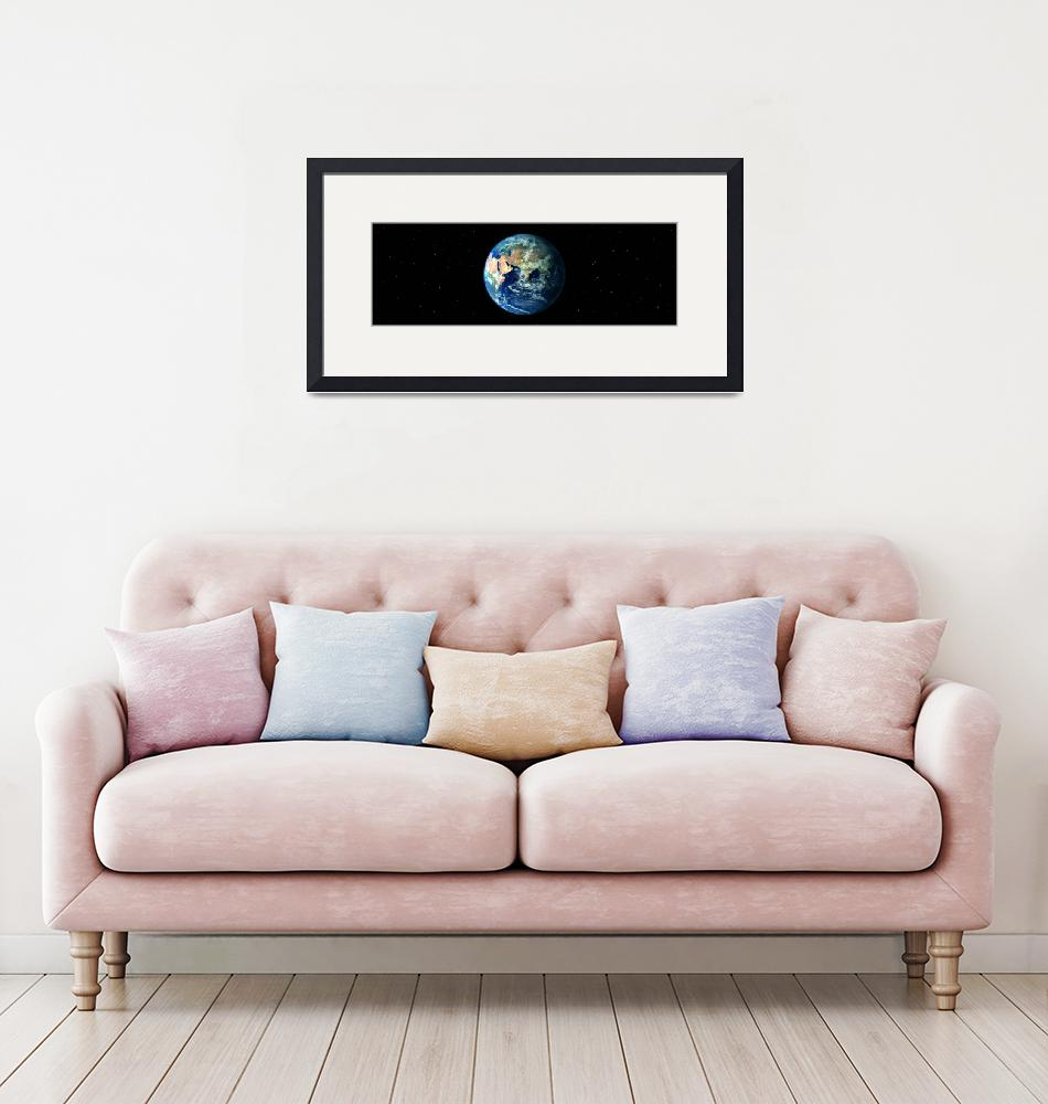 """""""Earth in Space showing Asia and Africa (Photo Ill""""  by Panoramic_Images"""