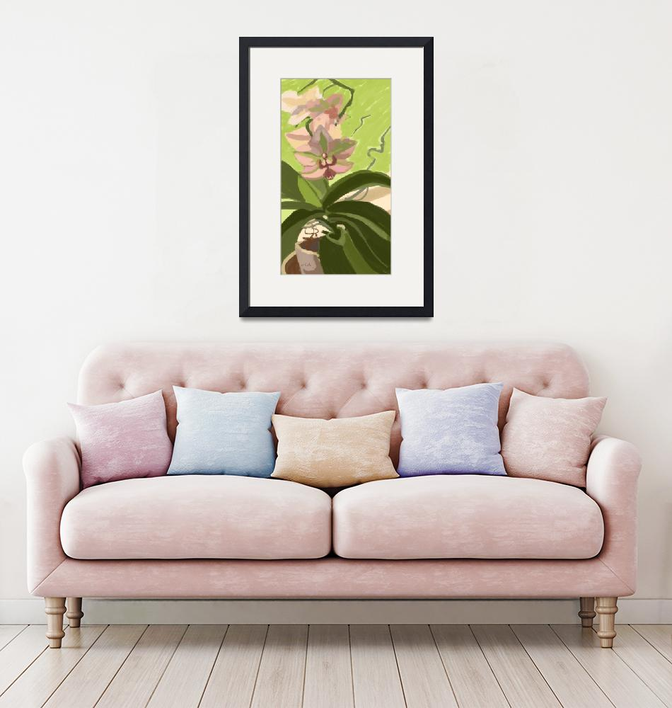 """""""Orchid Spring""""  (2019) by rogerwhite"""