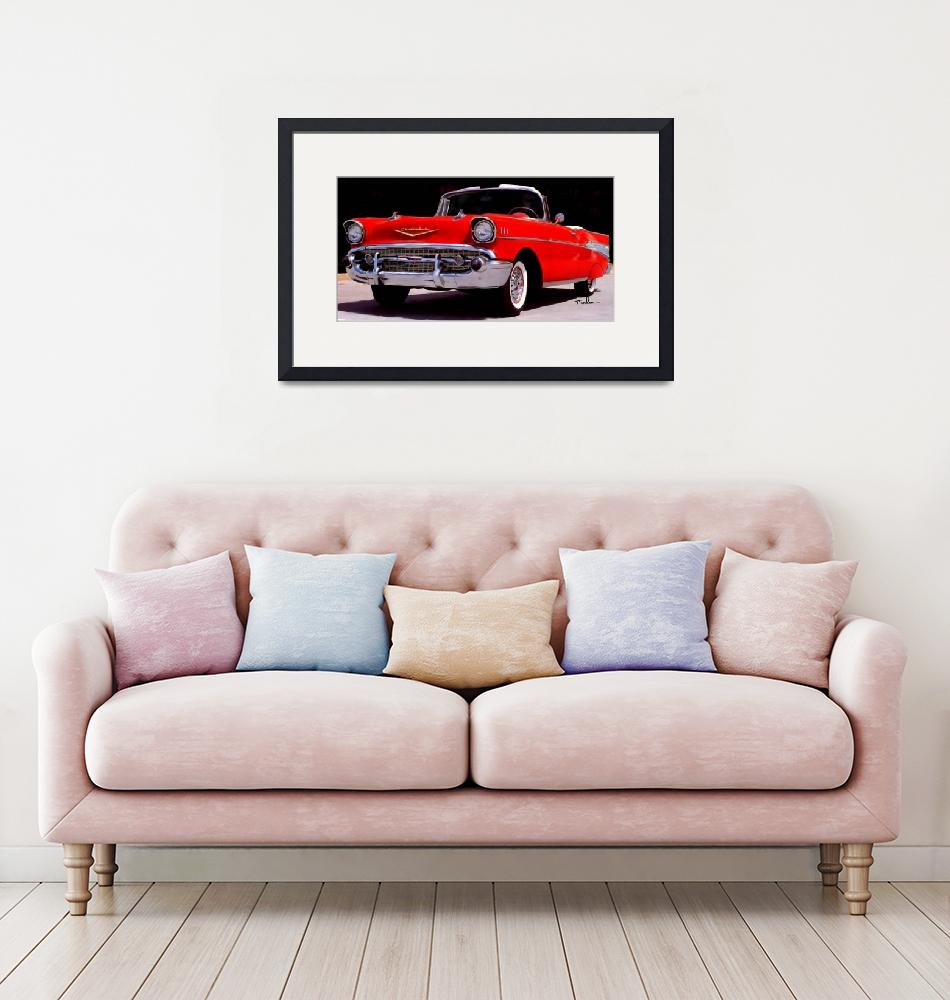 """57 Chevy""  (2011) by ArtbySachse"