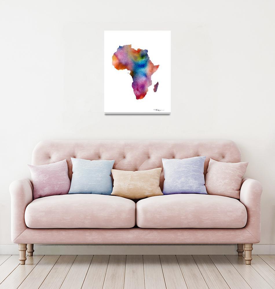 """Africa""  (2015) by k9artgallery"