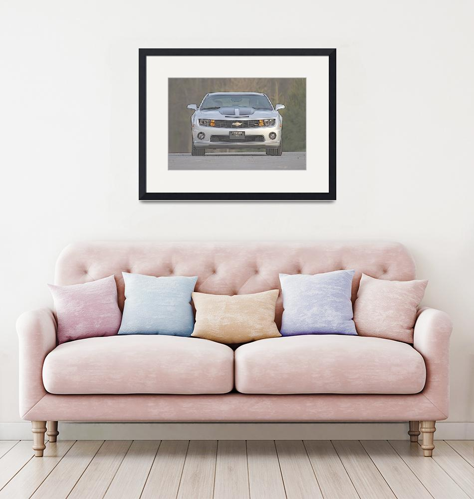 """""""Camaro SS, Front""""  by dteetor2"""