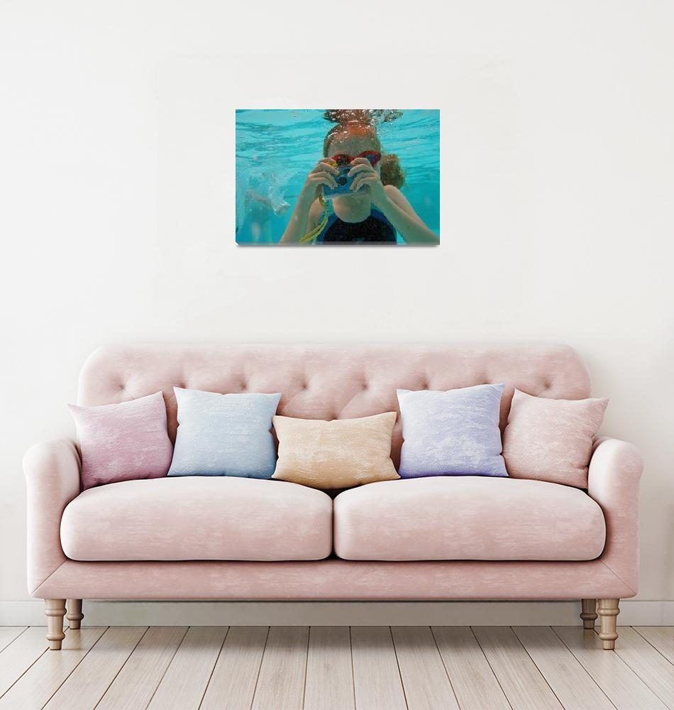 """""""Underwater Snapper  (14481-RDB)""""  (2007) by rodjohnson"""