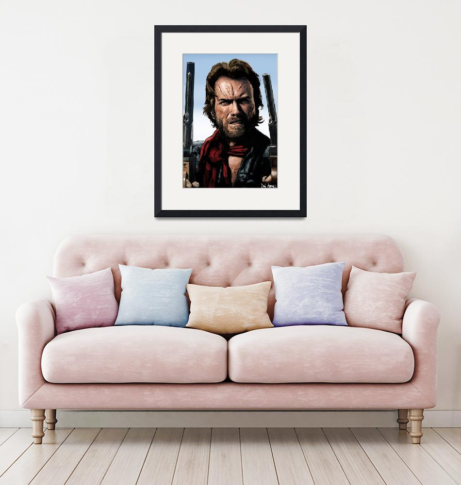 """""""Clint - The Outlaw Josey Wales""""  (2016) by DanAvenell"""