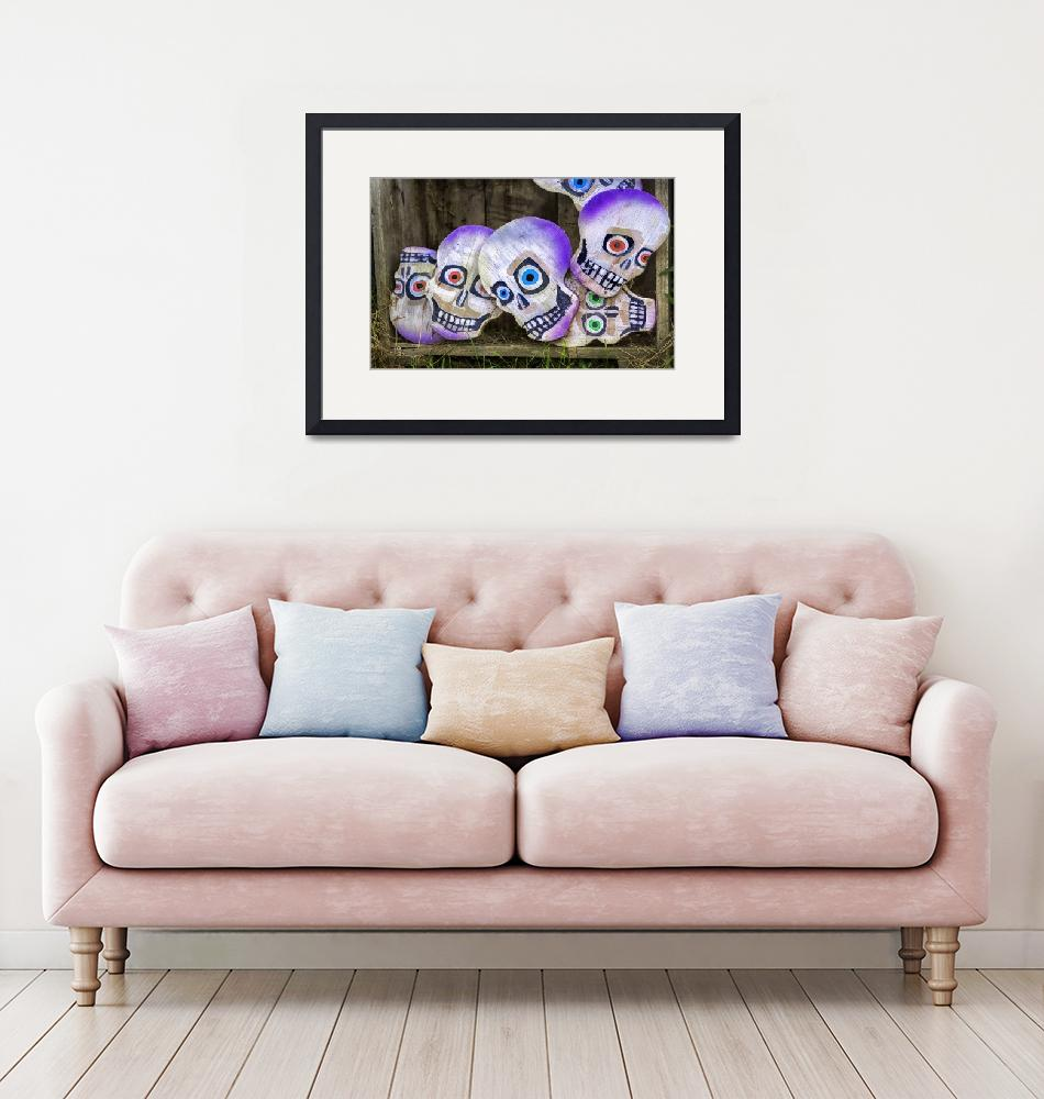 """Day of the Dead Decorations""  (2018) by WilshireImages"
