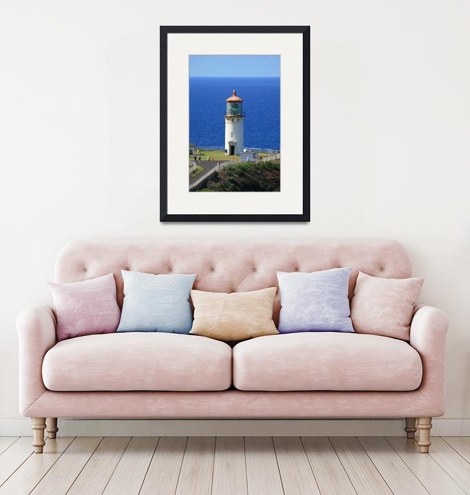 """""""Light House on the Ocean""""  (2010) by photophil"""