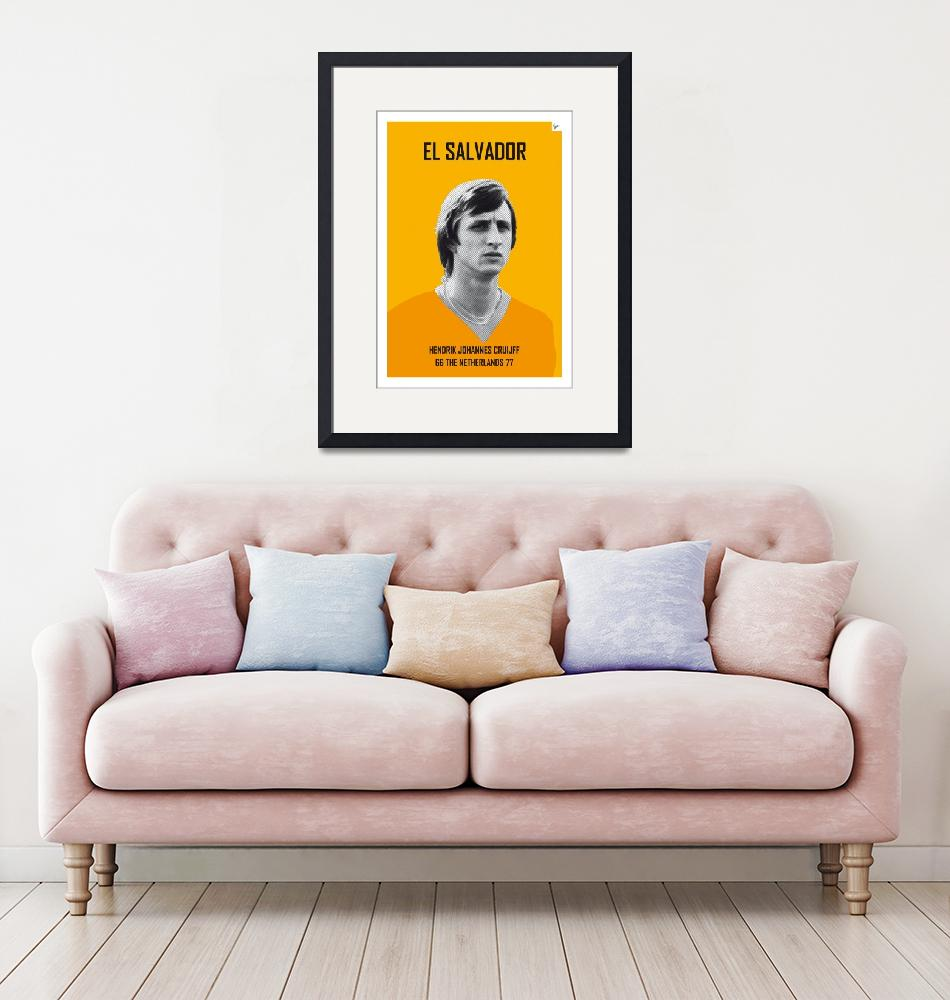 """My CRUIJFF soccer legend poster""  by Chungkong"