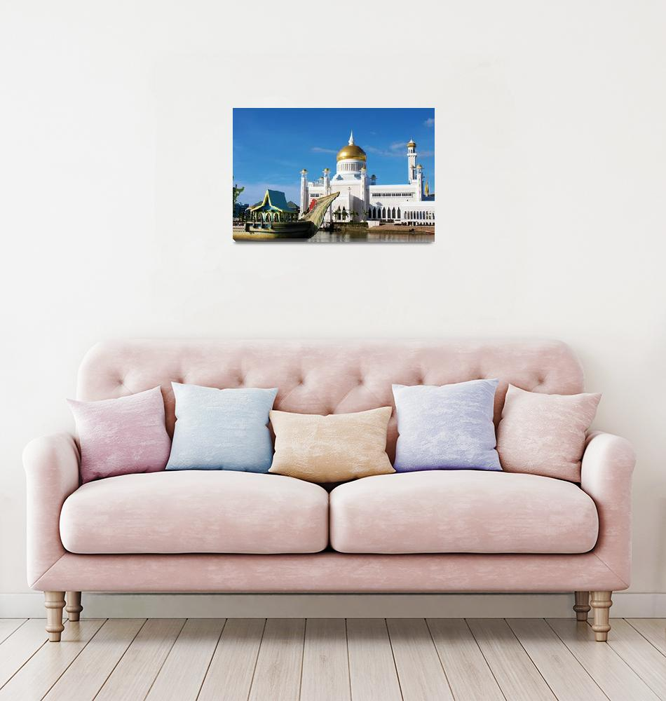 """""""Mosques of Brunei""""  by meganjparker"""