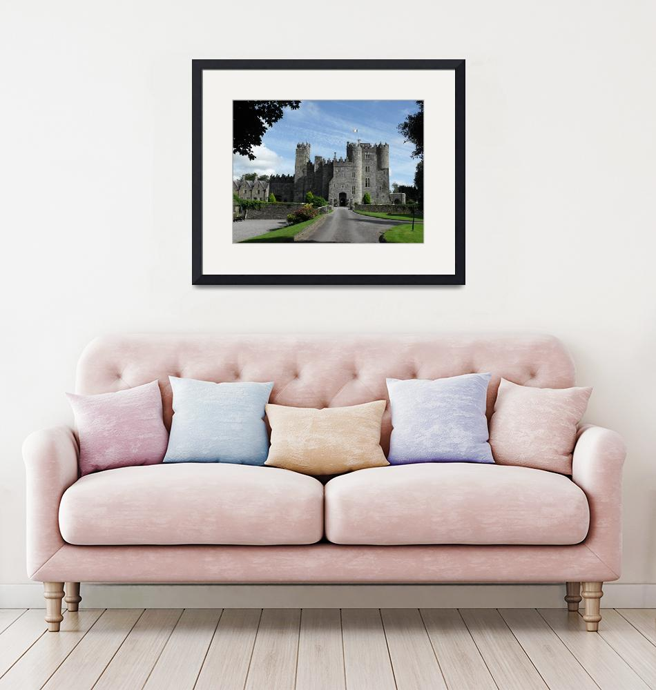 """""""Kilkea castle on a hot day""""  (2009) by Natureseyes"""