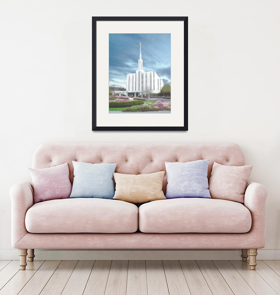 """""""Seattle Temple""""  by TerrySpringer"""