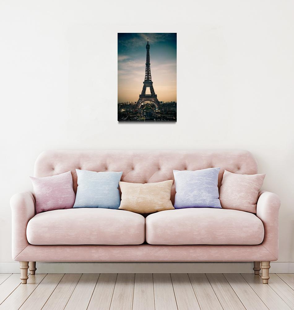 """""""Eiffel Tower""""  (2009) by urbansafari"""