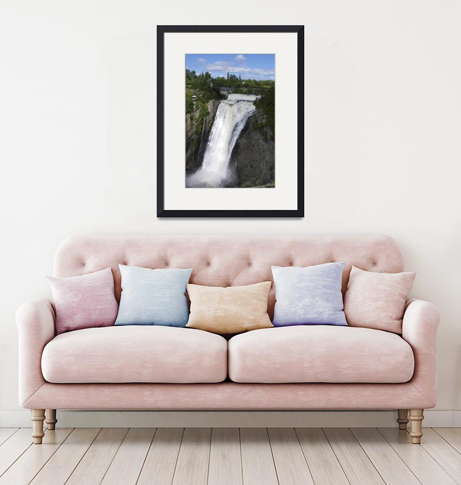 """""""chute Montmorency/Montmorency fall""""  (2007) by recto-verso"""
