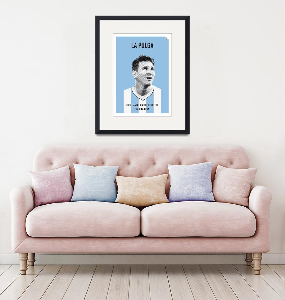"""""""My Messi soccer legend poster""""  by Chungkong"""