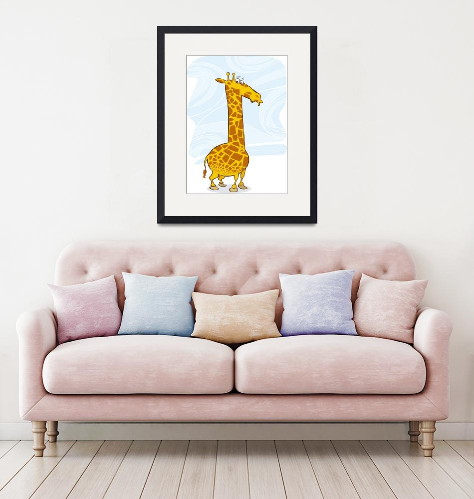 """giraffe""  (2009) by cartoonfactory"