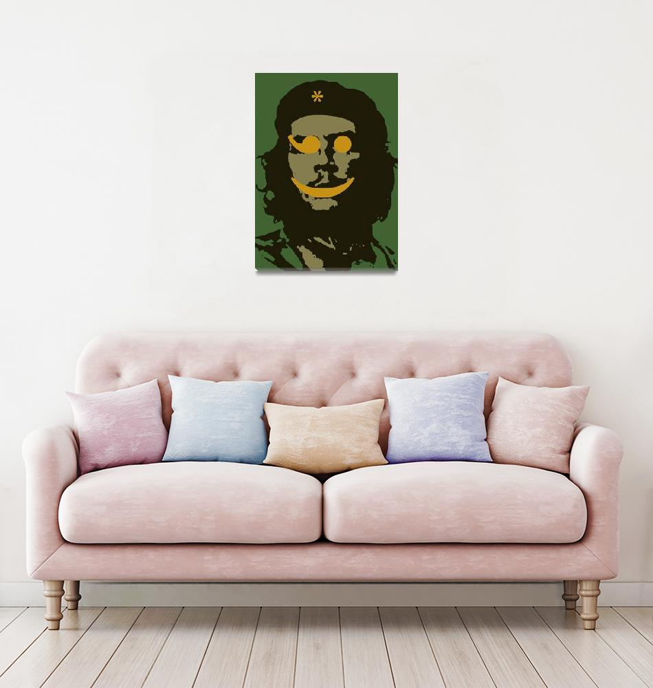 """Che Guevara Emoticon 1""  by RubinoFineArt"