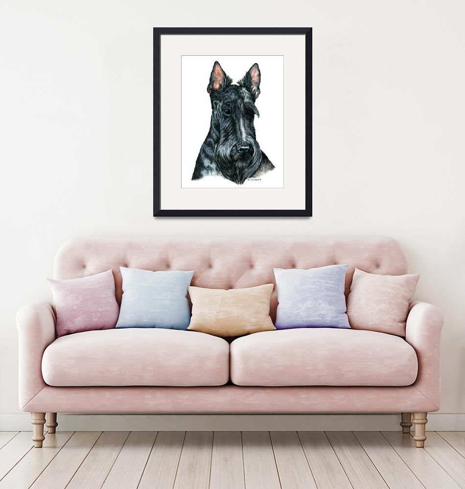 """Scottish Terrier Scotty Dog""  (2000) by KathleenSepulveda"