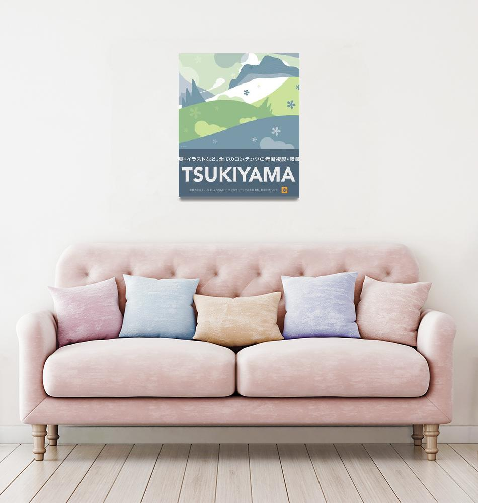 """""""Tsukiyama""""  (2006) by billoneil"""