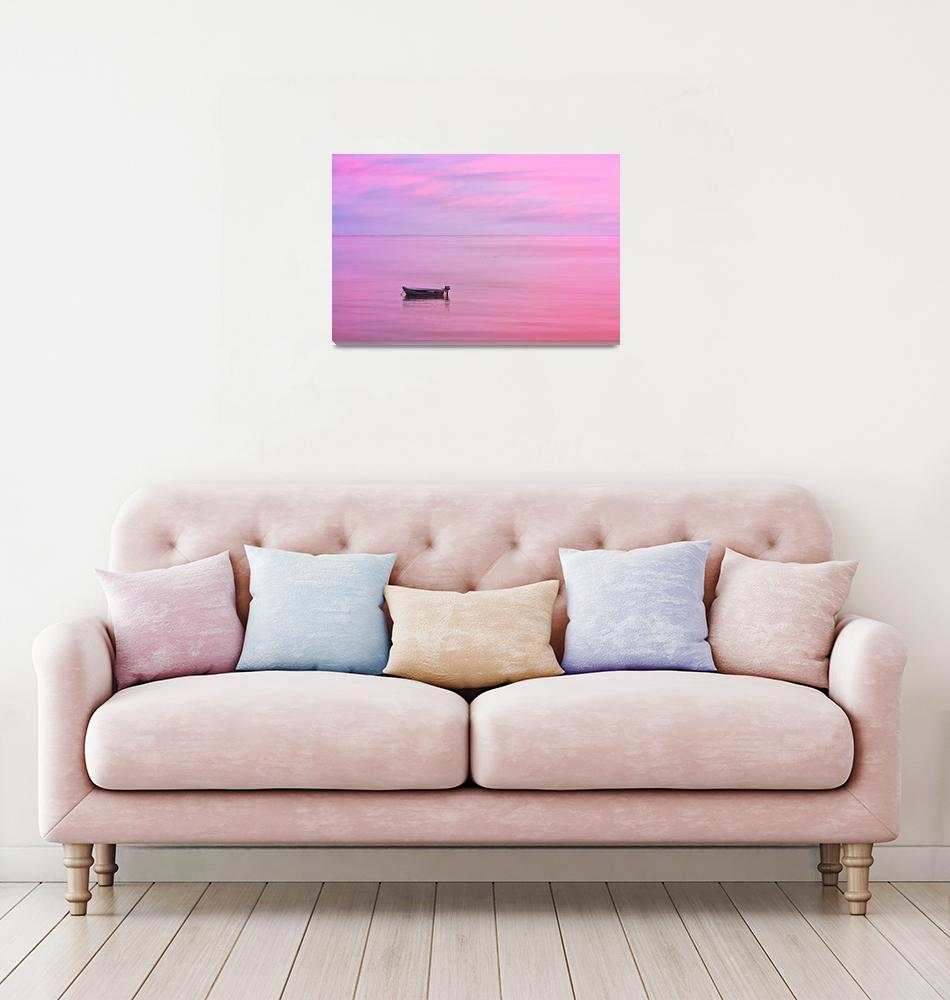 """Cape Cod : Pink Sunset""  (2020) by ChrisSeufert"