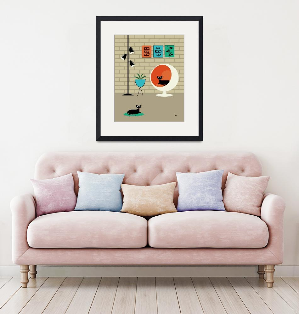 """""""Mini Mid Century Shapes""""  (2013) by DMibus"""