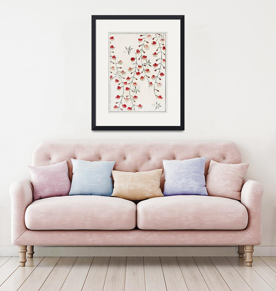 """Cherry Blossom Print by Watanabe Seitei""  by FineArtClassics"