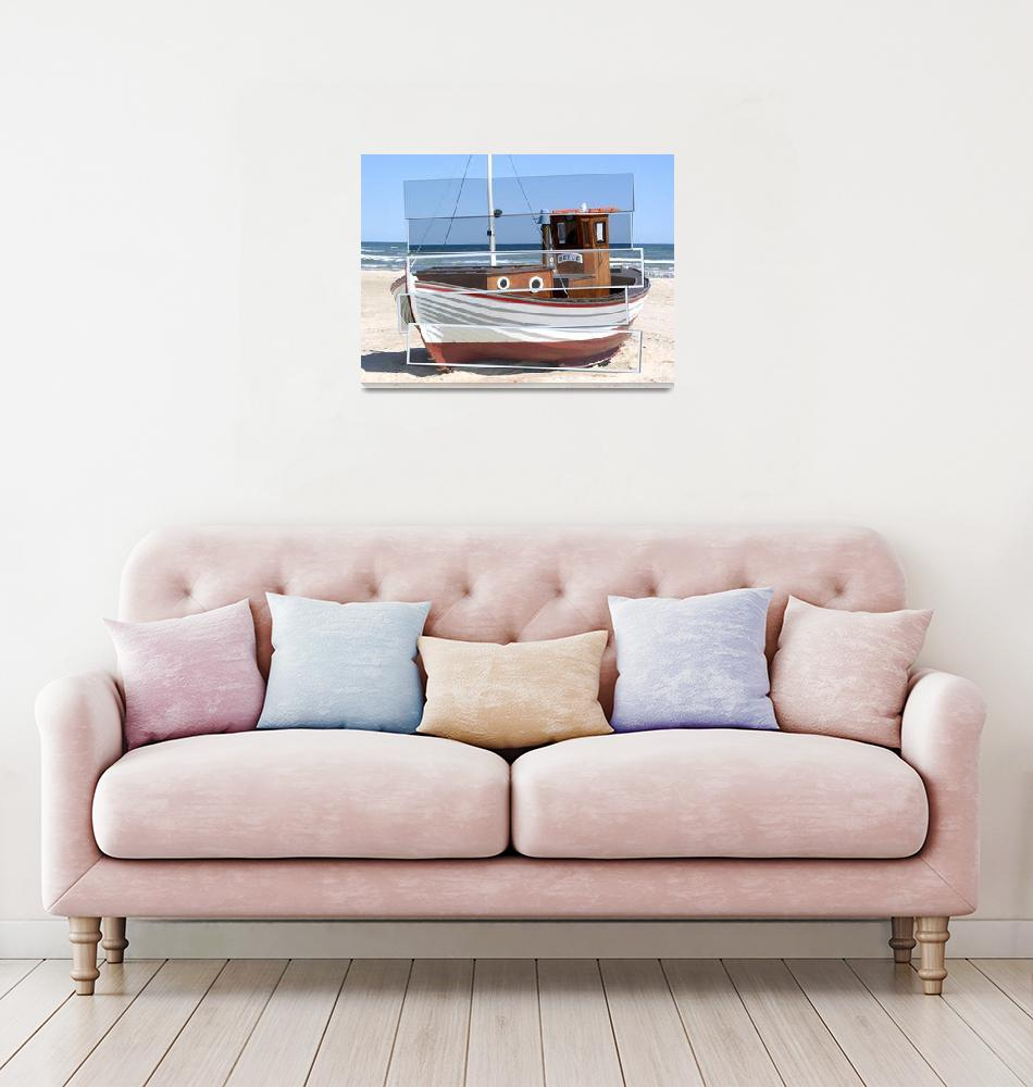 """fishing boat""  by lurksart"