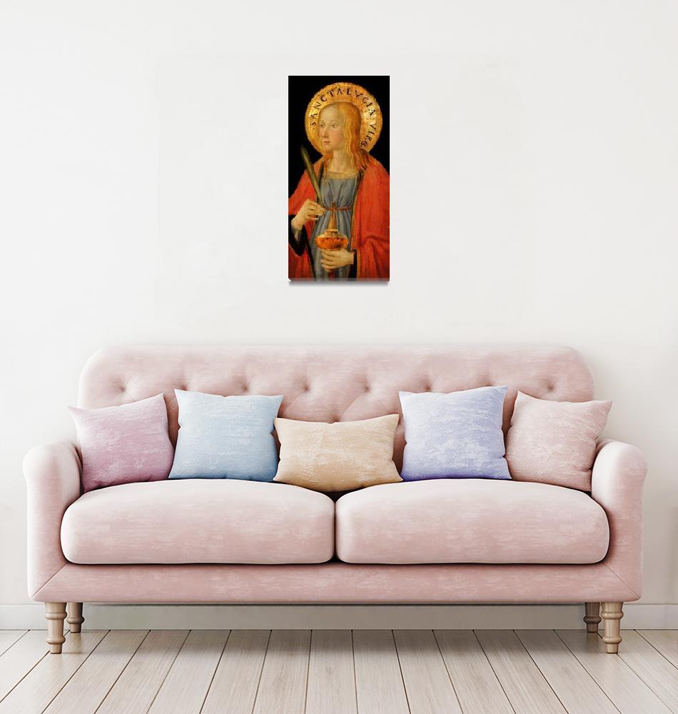 """Saint Lucy""  (2019) by dianeaddis"