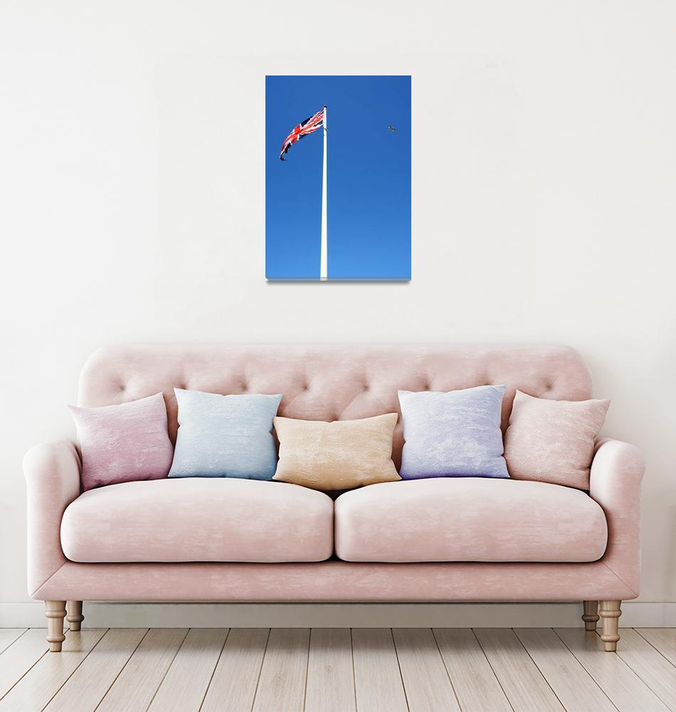 """""""Union Jack and Seagull""""  (2007) by nicolaus"""