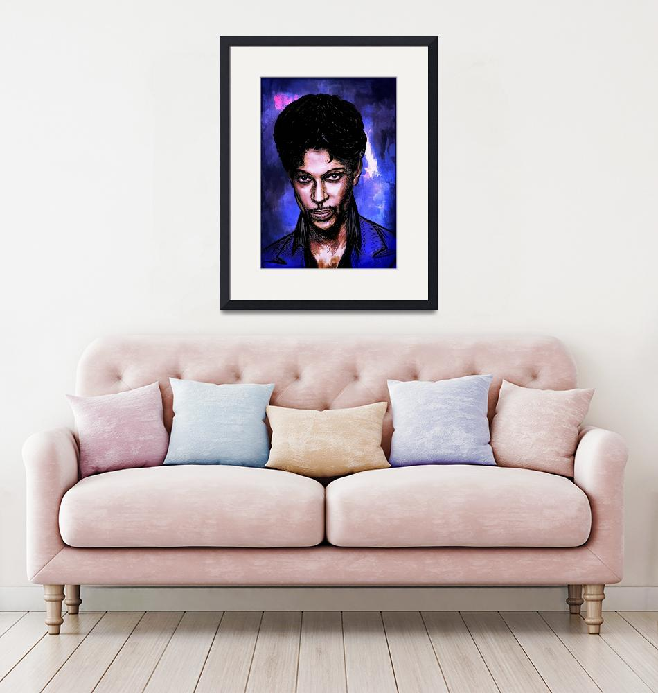 """Music Legend  Prince""  (2016) by andy551"