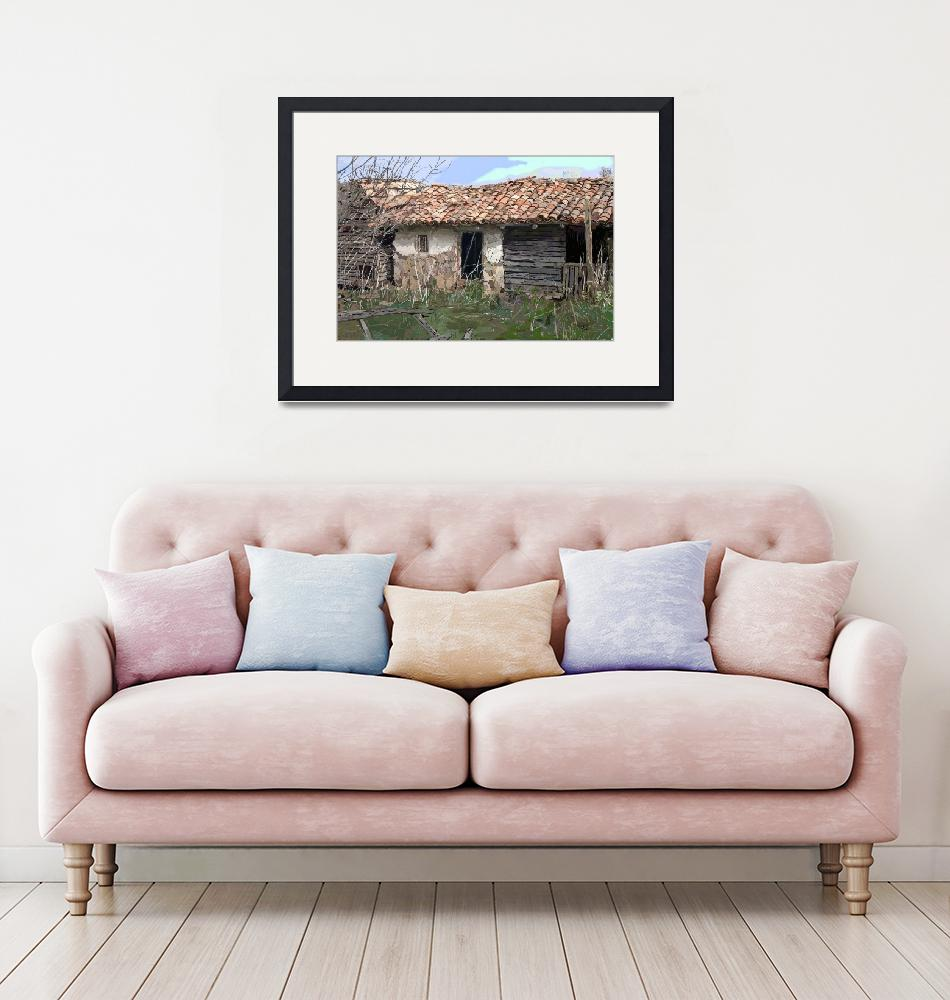 """""""Old Outbuildings 2""""  (2009) by Artshedbg"""