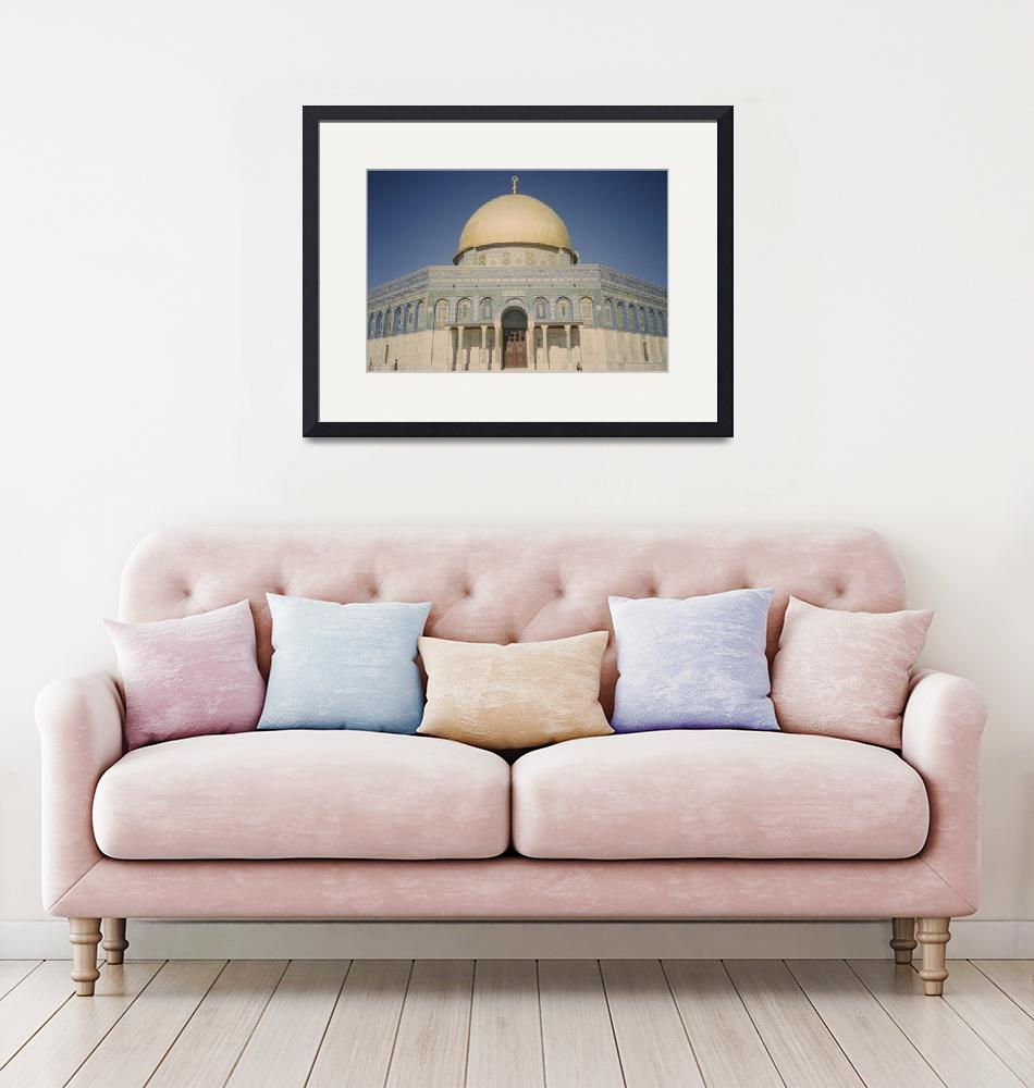 """Dome of the Rock""  by CulturalPerspective"