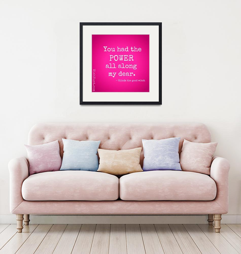 """""""Glinda the Good Witch Quote""""  by WishHunt"""