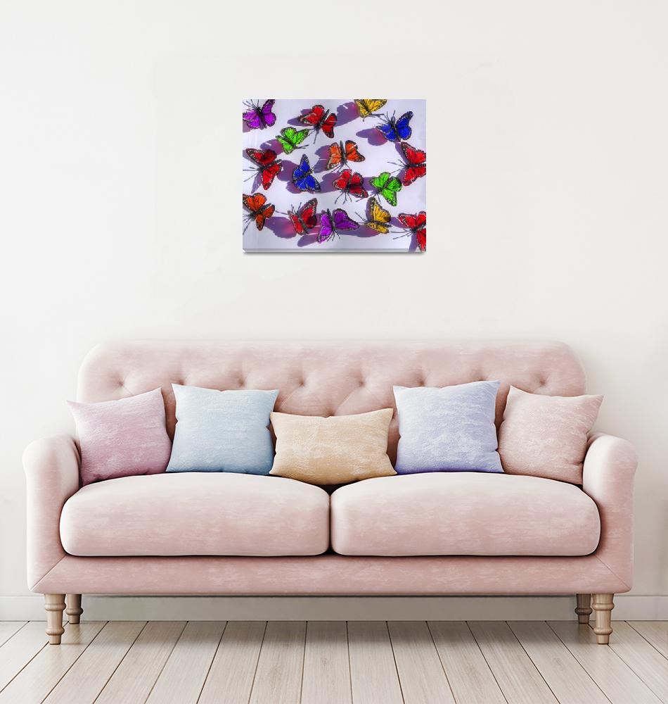 """color butterflies""  (2010) by annav"