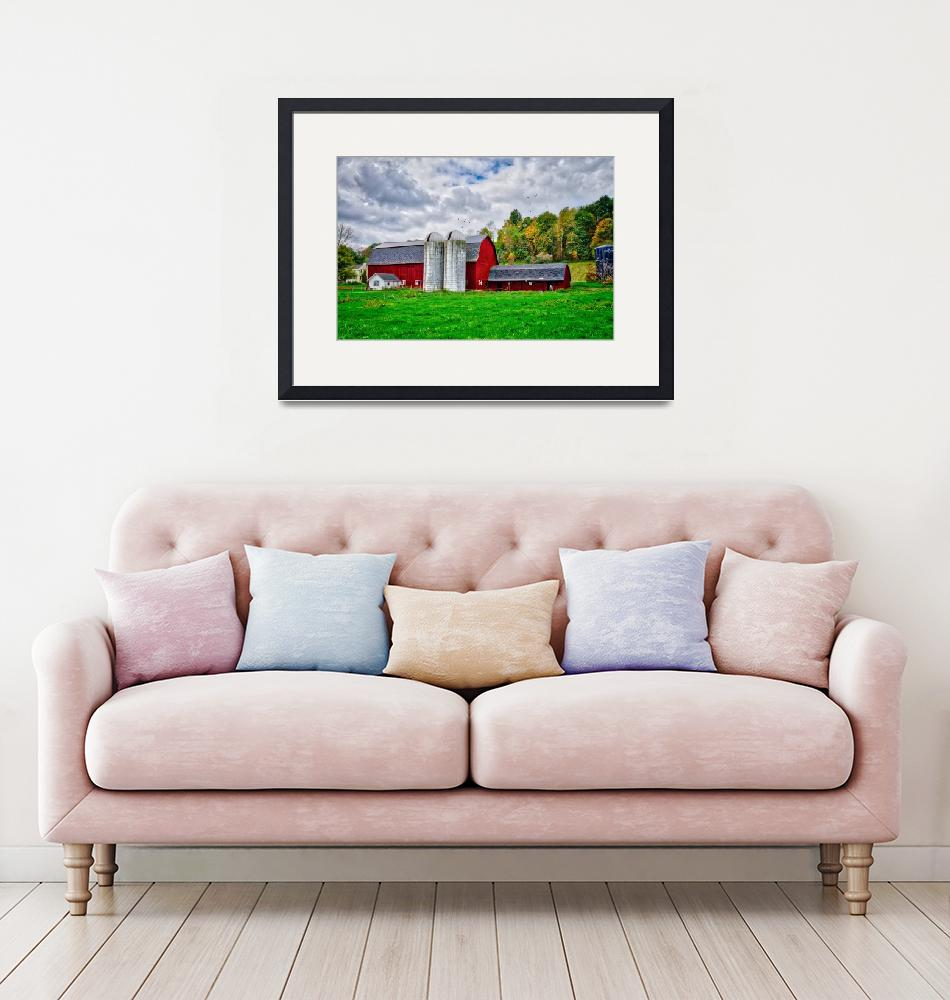 """""""The Charm of Farm Life in the Finger Lakes""""  (2018) by LynnBauer"""
