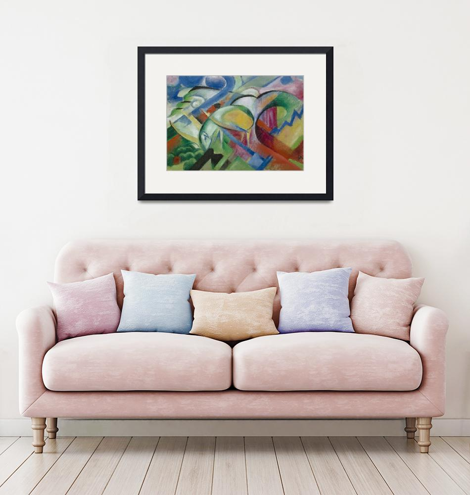 """""""Franz Marc The Sheep""""  by FineArtClassics"""