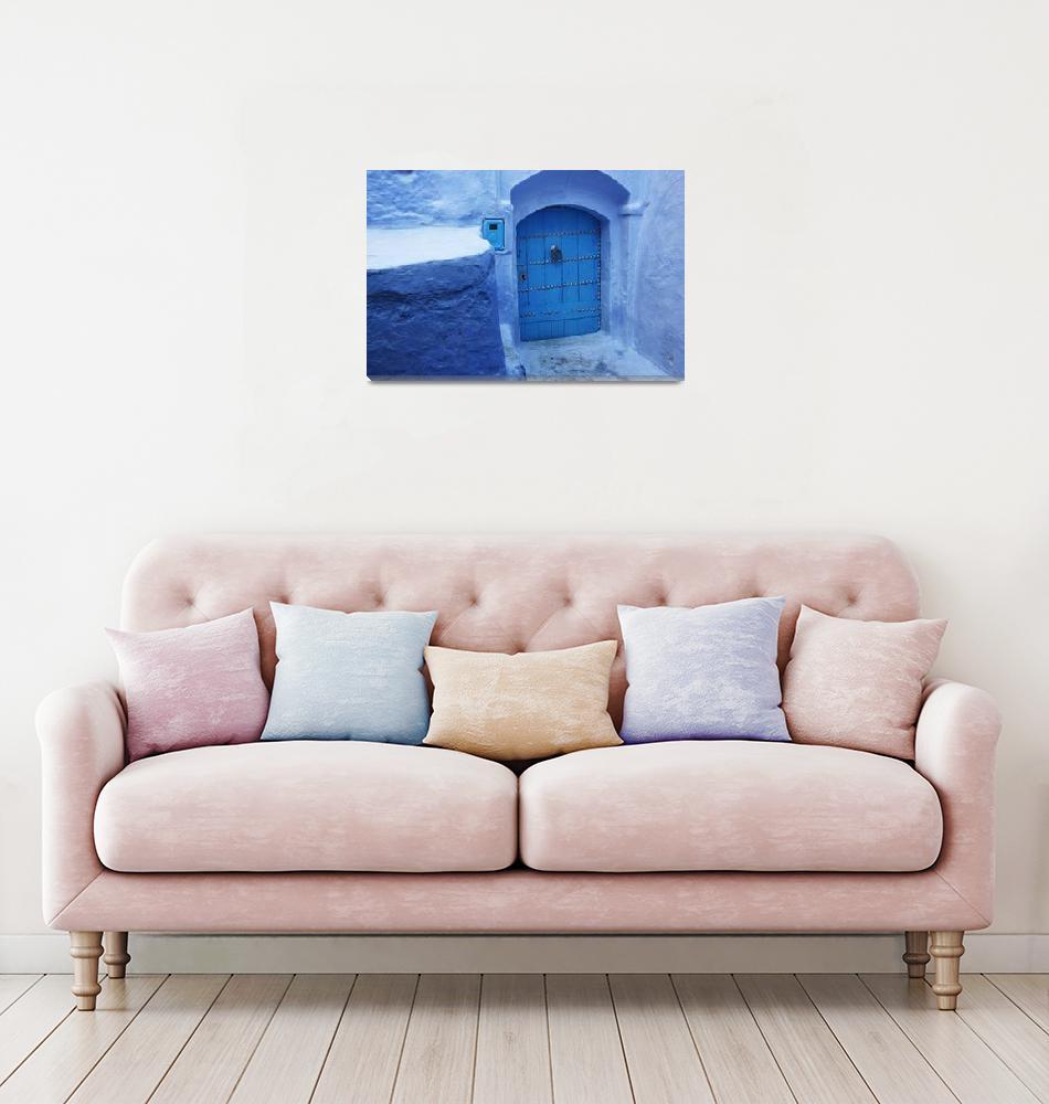 """Blue Door""  (2009) by bryantighe"