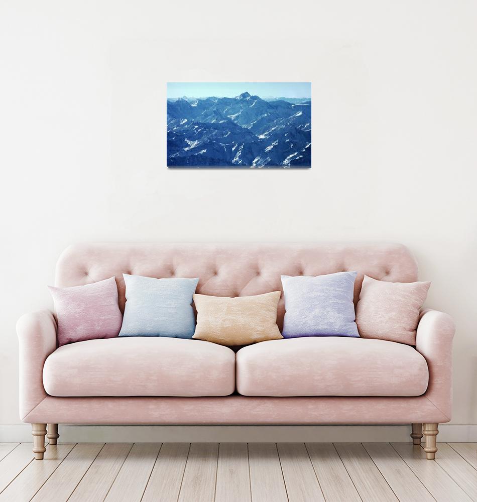 """Ismoil Somoni Peak Panorama Color 7""  (2006) by Liberando4Life"