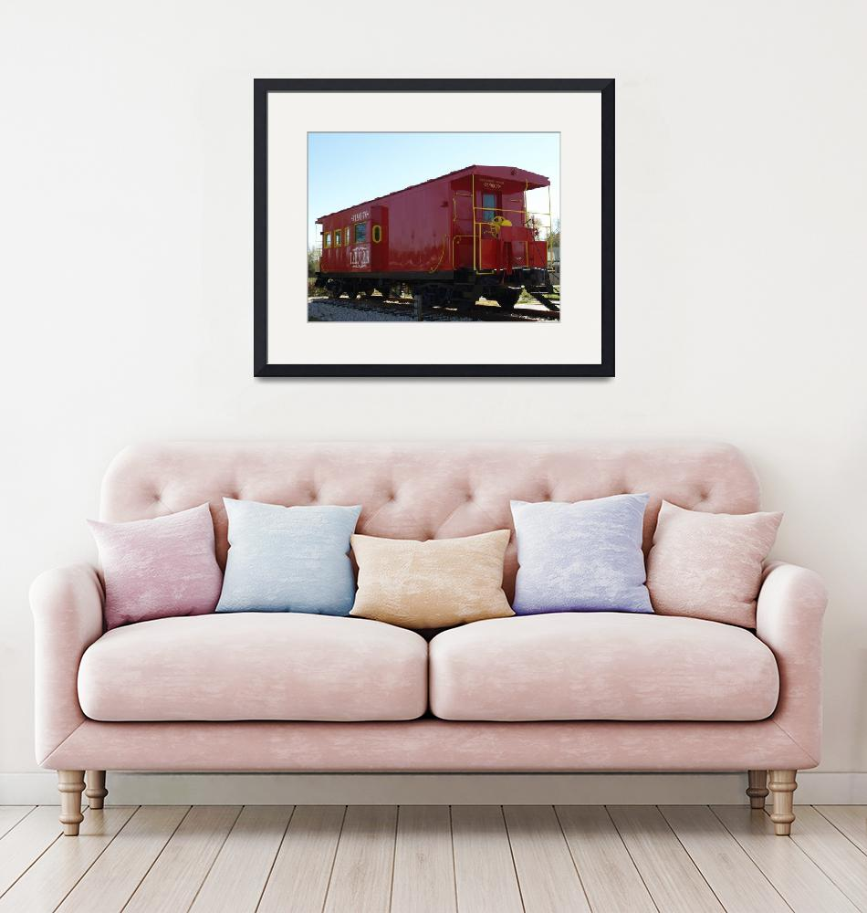 """""""Tomball Caboose""""  (2010) by dlstein"""
