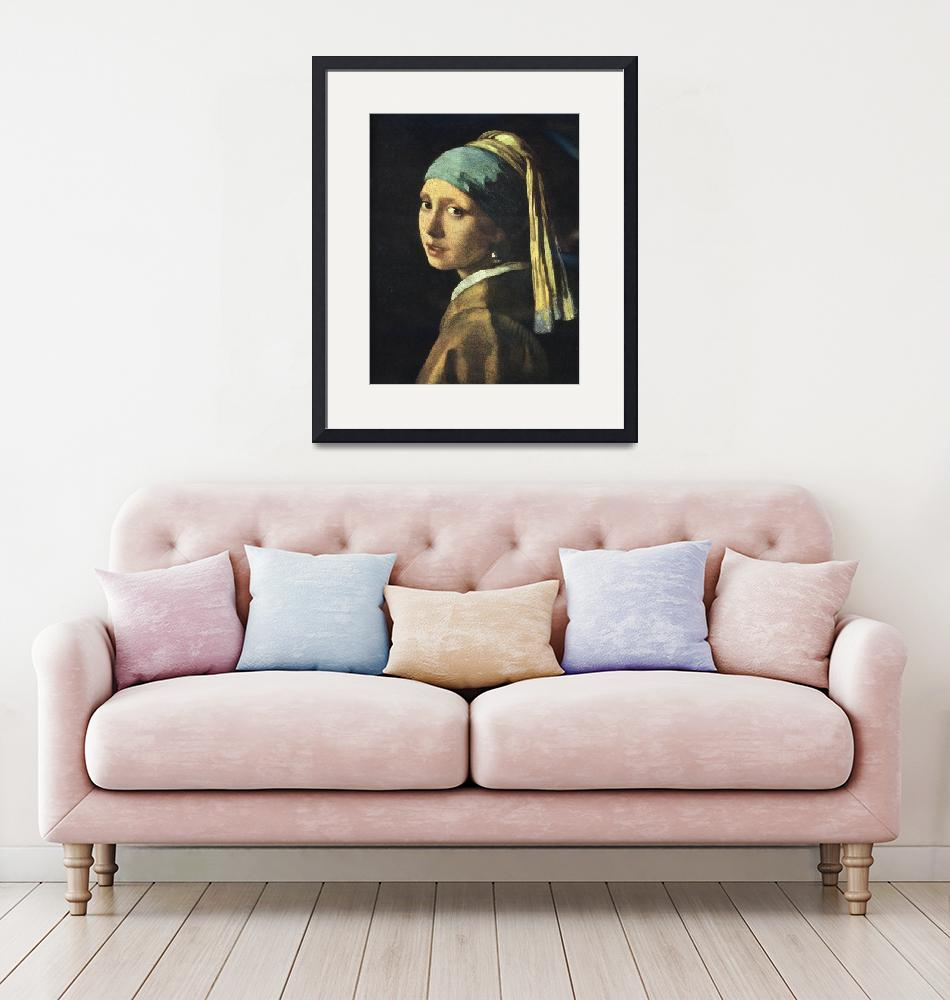 """Girl with a Pearl Earring""  (2008) by birthdaygifts"