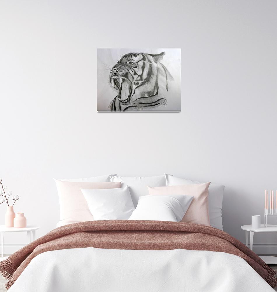 """Tiger""  (2014) by gallerymay"