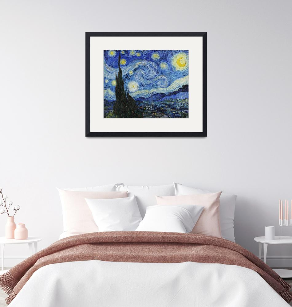 """The Starry Night by Van Gogh""  by FineArtClassics"