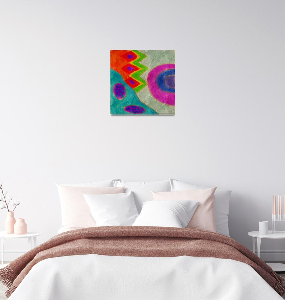 """Untitled Abstract Digital Painting""  (2019) by jackieludtke"