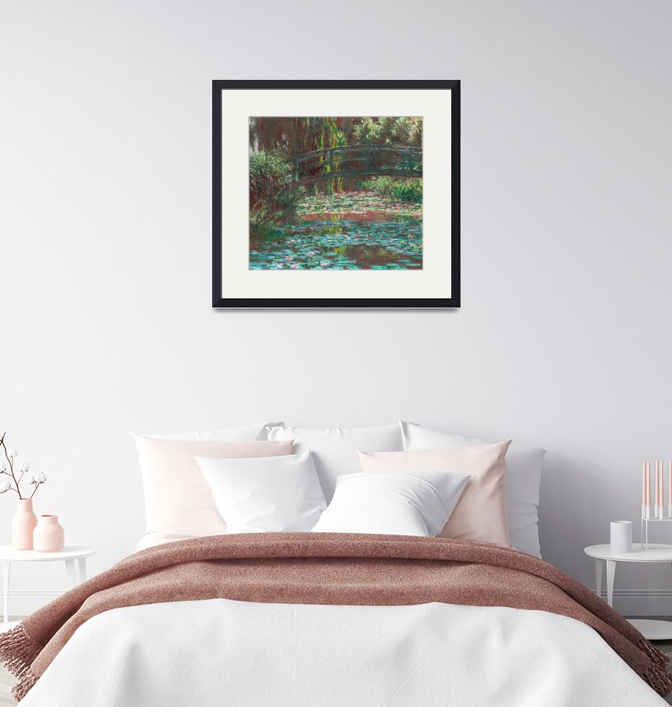 """Water Lily Pond by Monet"" by FineArtClassics"