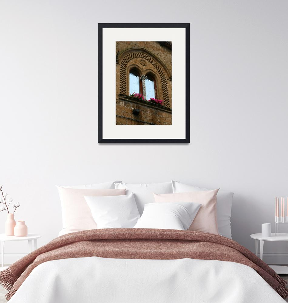 """""""Arched Brick Detailed Window""""  by DonnaCorless"""
