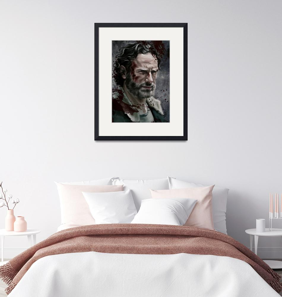 """""""Rick Grimes""""  by dmtry"""