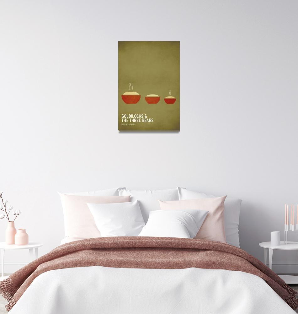 """Goldilocks and the Three Bears"" (2010) by squareinchdesign"