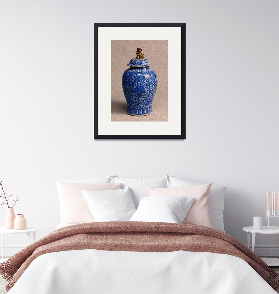"""""""Chinese Pottery - Chinese Chinoiserie""""  by motionage"""