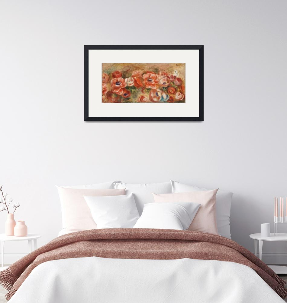 """Anemones by Renoir""  by FineArtClassics"